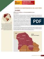 216 239 Grandes Batallas de La Historia Campaña de Independencia Del Alto Peru