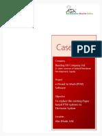 Case Study Bunduq Company Limited