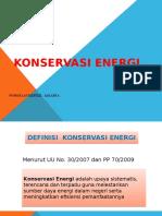 Konservasi Energi