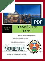 proyecto diseño de loft