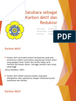 Batubara sebagai Karbon Aktif dan Reduktor.pptx