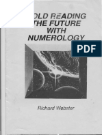 284508311 Richard Webster Cold Reading the Future With Numerology PDF