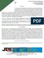 De Securite Technologies Corporate Profile