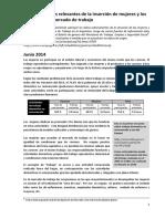 Indicadores más relevantes de la inserción de mujeres y varones en el mercado de trabajo - Ministerio de trabajo Nacion.pdf