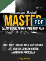 Bagaimana Menjadi Master