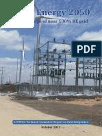 WWEA Report Wind Energy 2050