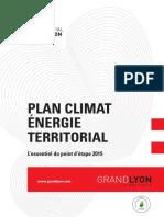 Plan Climat Énergie Territorial (PCET) - Point d'étape 2015