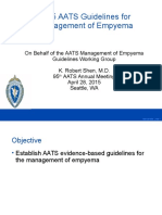 AATS Empyema Guidelines 2015 FINAL