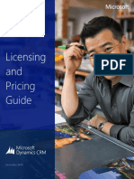 Dynamics CRM Online Pricing and Licensing Guide