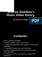 Andrew Goodwin's Music Video Theory