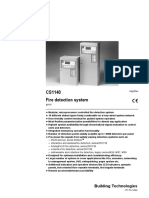Siemens CS1140 Fire Detection System