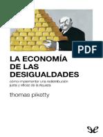 La Economia de Las Desigualdade - Thomas Piketty