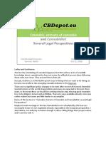 Cannabis, Extracts of Cannabis, Cannabidiol