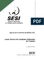 Água da Serra Industrial de Bebidas Ltda - Laudo 2006.pdf