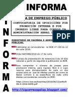 2016-06-22 CIGinforma _Oposicions AGE