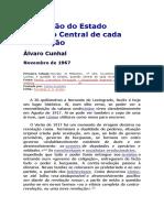 A Questão Do Estado Questão Central de Cada Revolução