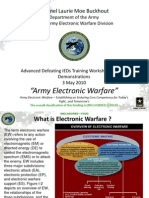 Army Electronic Warfare Brief 2010