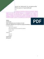 Tecnica de Estudio - Busqueda y analisis web
