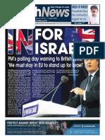 23 June 2016, Jewish News, Issue 956