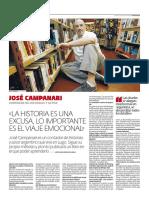 Jose Campanari - Entrevista / José Carlos Pedrouzo
