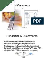 M Commerce dan Teknologinya