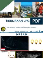 paparan dirjen migas tentang kebijakan LPG 3 Kg Januari 2016