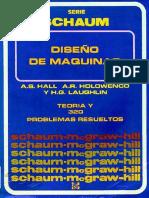 Diseño de Maquinas Teoria y 320 Problemas Resueltos a.s.hall Shaum