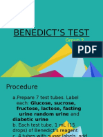 Benedict_s Test - Final