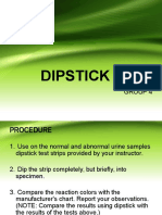 Dipstick Tests
