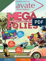 """Catalogue """"Megafolies"""" du 29 juin au 16 juillet 2016"""