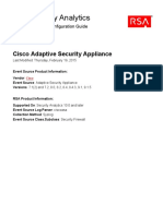 Cisco Adaptive Security Event Source Configuration Guide