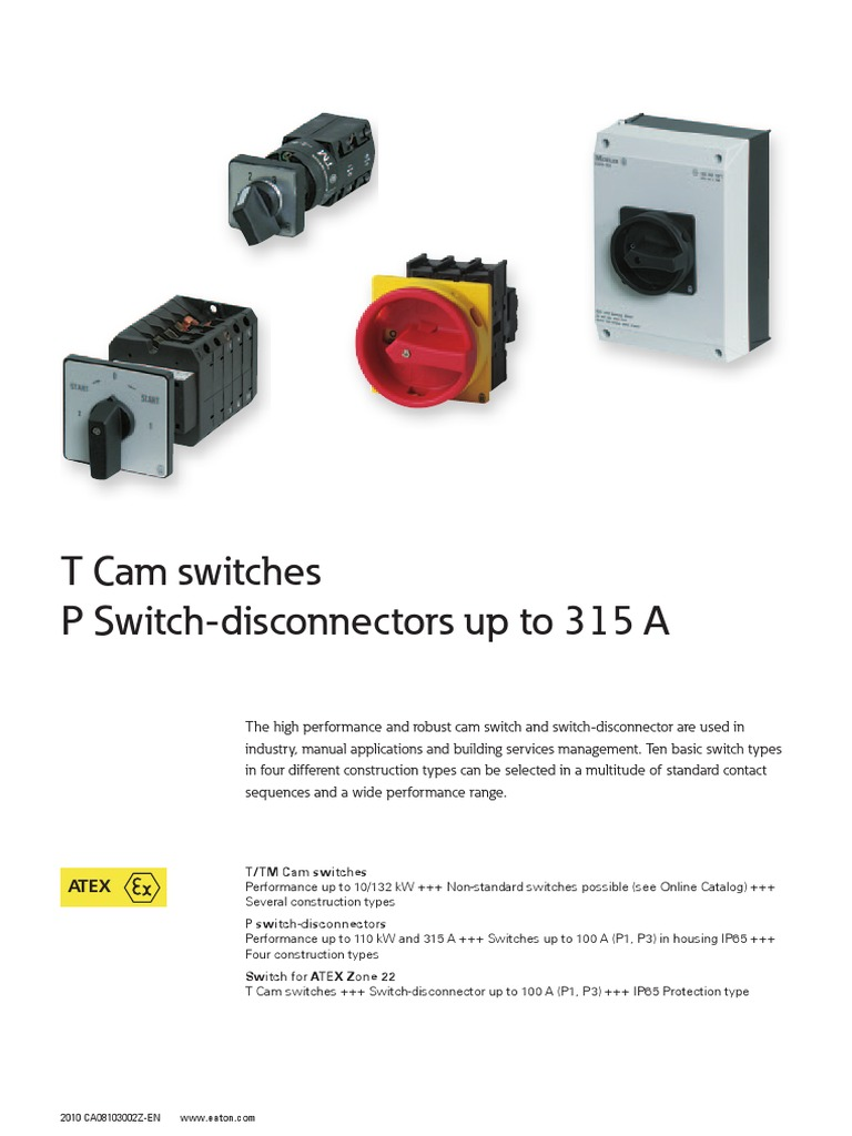 6 Eaton Switch Disconnector Between Disconnectors Load Switches And Circuit