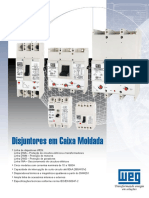 Disjuntor Caixa Moldada DWA