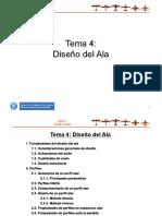 Tema 4 Diseño Del Ala