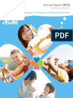 Asahi Annual Report 2013