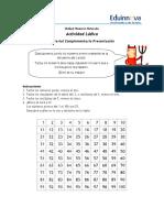 02a Act Lúdica Estudiantes - Números Primos y Compuestos