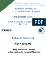 STEPS Imperforate Anus