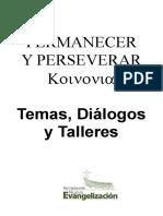 PERMANECER Y PERSEVERAR
