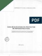 Guia de Ejecucion de Proyectos de Infraestructura