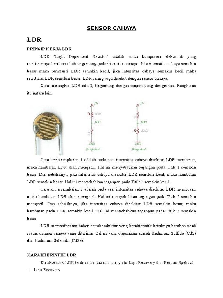 Sensor Cahaya Ldr 1540103782v1