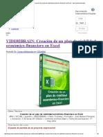 Creación de Un Plan de Viabilidad Económico-financiero en Excel