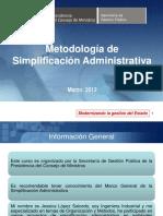 01.Metodol Proc Simplif Adm[1] - MODULO 2