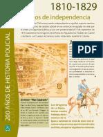 """Chile, """"200 Años de Historia Policial"""", Carabineros de Chile"""