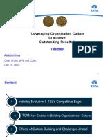 Tata Steel Culture