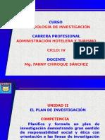 Curso Metodología de Investigacion -SESIÓN OCHO - TURISMO