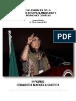 134ª ASAMBLEA DE LA UNIÓN INTERPARLAMENTARIA Y REUNIONES CONEXAS