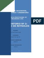 numero dr reynolds