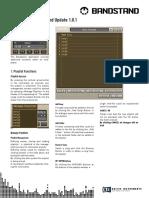 BANDSTAND Manual Addendum 1.0.1