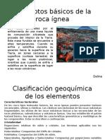 Conceptos Básicos de La Roca Ígnea
