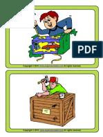 Action Verbs 1 Medium Esl Flashcards for Kids